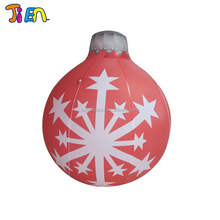 China manufacturer high quality colorful christmas inflatable snow globe