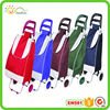 Folding shopping trolley cart duffle travel bag foldable tote bag for man