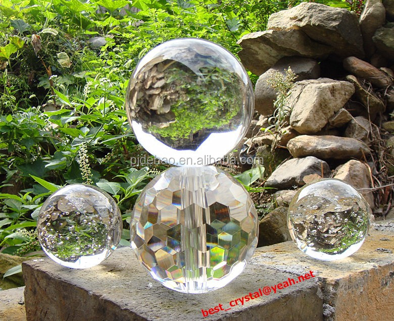 K9 High Quality Decprative Crystal Faceted Ball Crystal Chandelier Ball