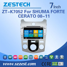 car radio for KIA SHUMA/FORTE/CERATO car radio audio system with TV 3G BT car dvd gps multimedia player