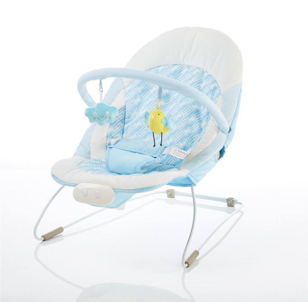 Baby swing bouncer with music and toys