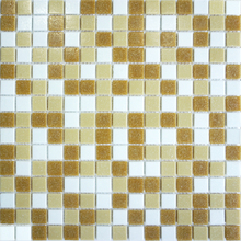 Popular 20*20MM Mixed Color Glass Mosaic Tile For Wall And Floor