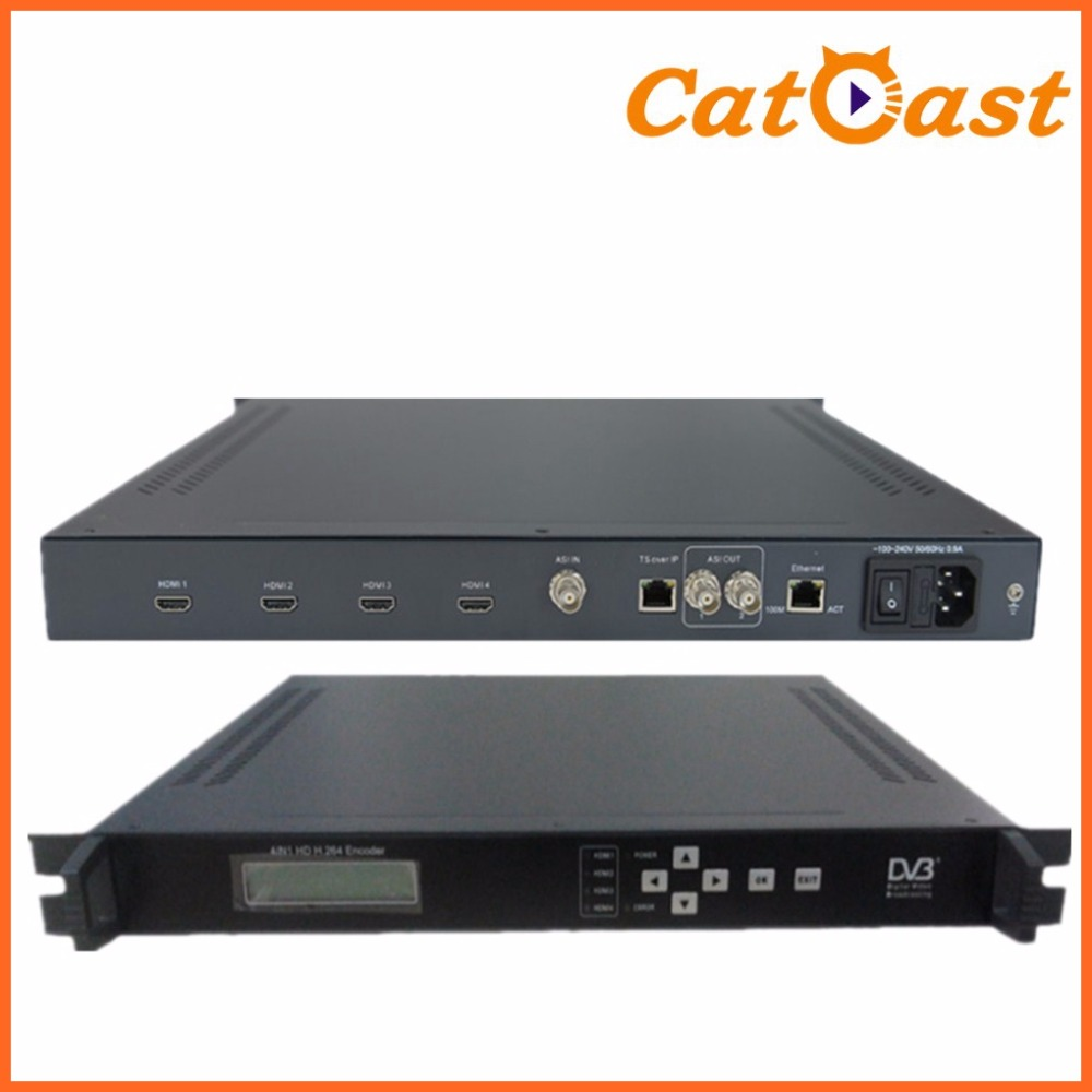 4 ch with HDMI in and IP out full 1080P digital h.264 encoder