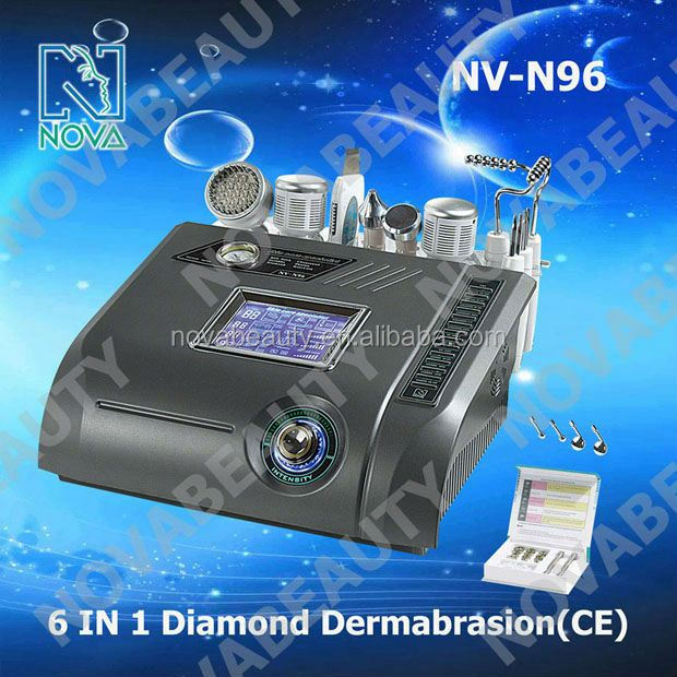 beauty salon equipment N96 6IN1 diamond dermabrasion machine with photon&ultrasound