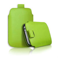 Pull Up Tab Lychee Leather Pouch Case Cover for iPhone 4 4S can accept paypal