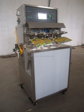 High speed doypack filling and sealing machine for milk juice yogurt