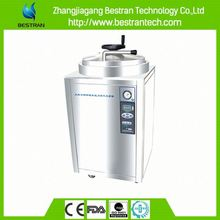 China BT-100A stainless steel pressure steam sterilizer, portable autoclave class b dental
