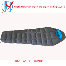 400T polyester outdoor Travel Cold Weather Luxury sleeping bag