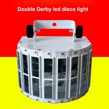Hot sale LED butterfly laser Double Derby disco light