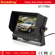Strong Shockproof 7 inch Car TFT LCD Sunshade Monitor For Truck