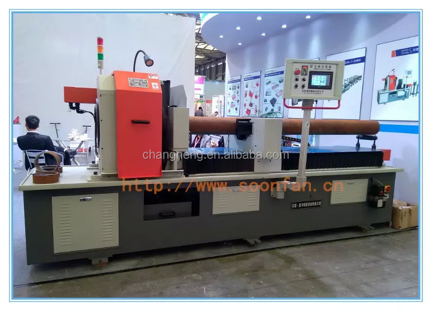 Rotating Horizontal Pipe Cutting Machine