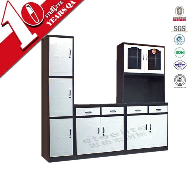 Metal Kitchen Cabinets Manufacturers: Manufacturer High Quality Prefab Metal Kitchen Cabinet