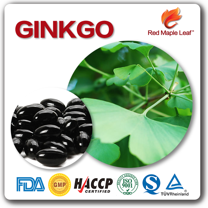 Many Years Experience Big Manufacturer Top Quality Ginkgo & Red Yeast Race Softgel Capsules