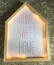 Sweet House Shape LED Light Photo Frame