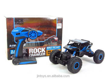 2.4G 1:18 remote control all-wheel-drive ROCK climbing rc car