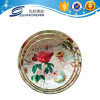 Home decoration personalized plastic serving tray