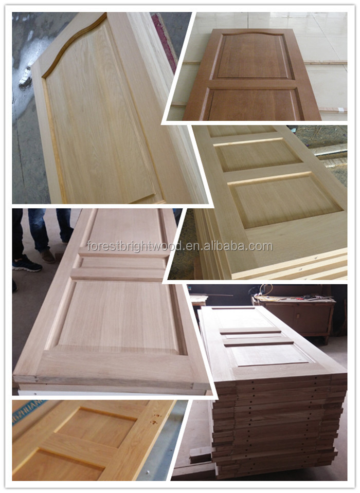 Solid Core Natural Walnut Veneer Mdf 3 Panel Interior