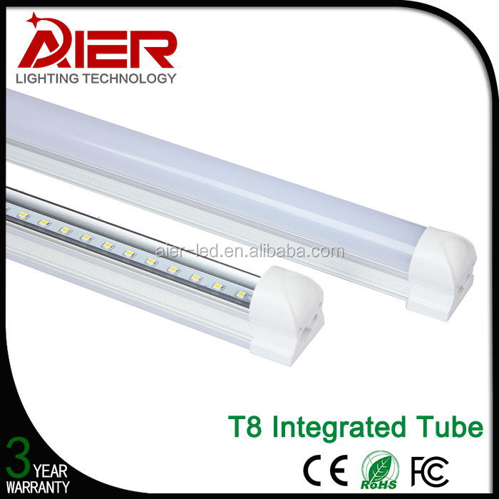 Updated high power t8 to t5 fluorescent light fixture