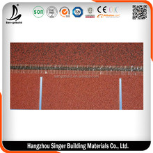 Hexagonal asphalt shingle fiberglass roofing felt