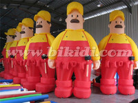 Giant inflatable cartoon character, fun inflatable man for sale K2112