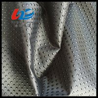 Waterproof 400D Polyester Oxford Fabric With PVC Dots Antislip For Bags/Luggages/Shoes/Mat Using