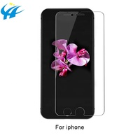 protective filter for iphone 6 7 8 plus 2.5d 9h silk printed toughened film glass screen protector phone accessories hot sale