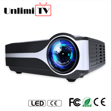 2018 small led beamer kids gift home theater video movie desktop beamer
