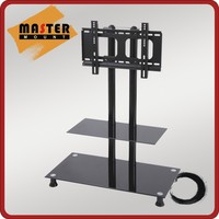 2 layers Modern Design LED TV Rack for 37 to 70 inch Screen