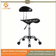 Simple design commercial bar stool with wheel JR-2017