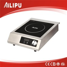 2017 3500W ETL kitchen steel commercial induction cooker stainless steel heavy duty induction cooker