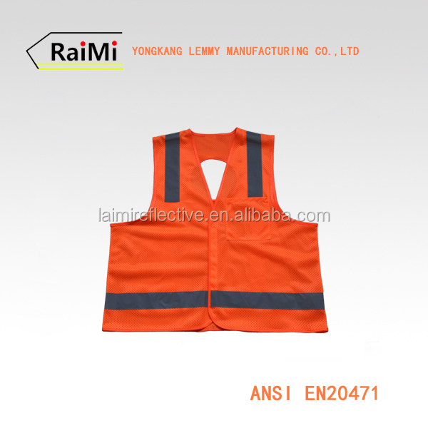 Personal Protective Equipment camo safety vest 100 Polyester Work Vest Safety vest