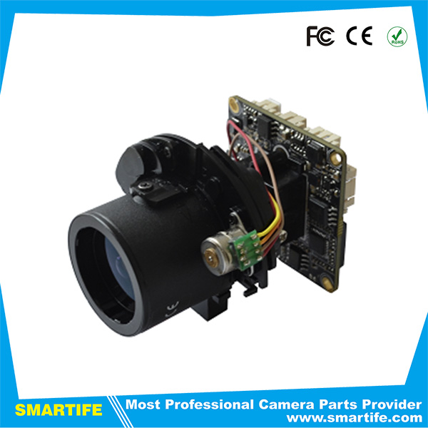 Standard 2.8mm-12mm auto-zoom H.264 support dual-stream AVI format 1.3MP/2.0MP Auto-focus ip network camera Module