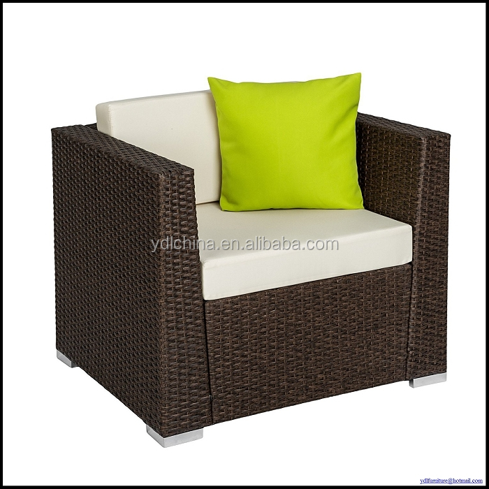 4pcs outdoor kd rattan sofa restaurant sofa set outdoor YKD-05B
