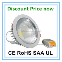 dimmable Mean well driver high CRI factory Led 15W COB downlight