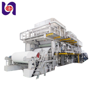 2018 automatic turn key office a4 copy paper making machinery line mill, culture newsprinting paper production equipments