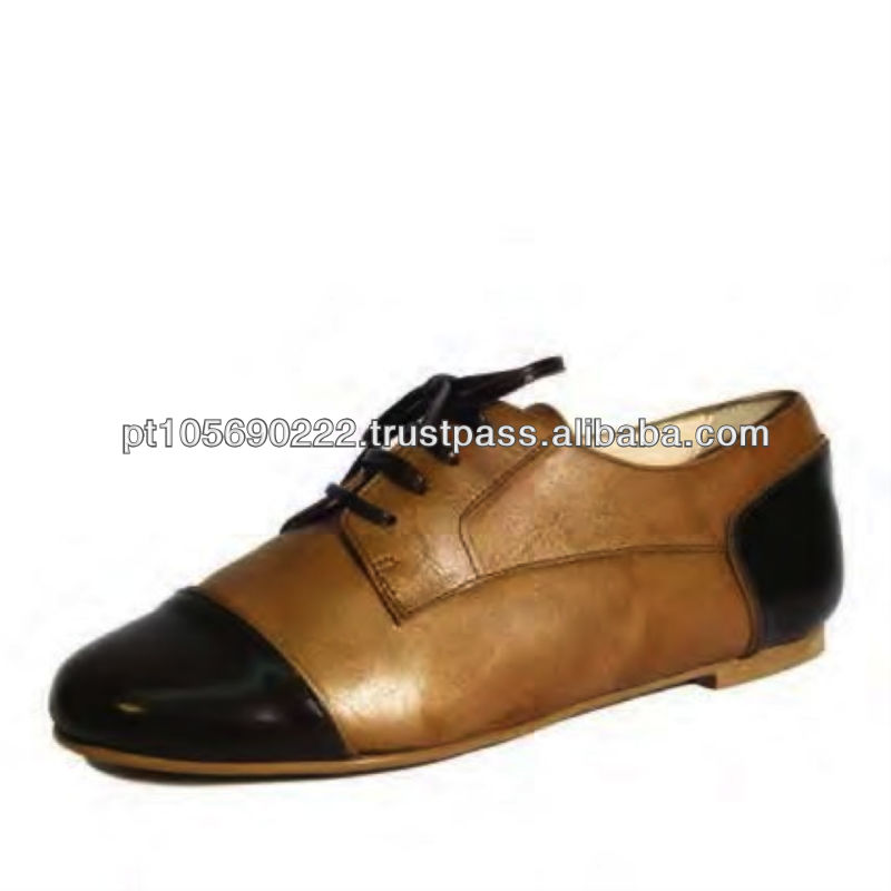 Shoes in leather Oxido 9605