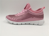 High Quality Top Sale Pink Colorful Mesh Women sport Shoes for Ladies