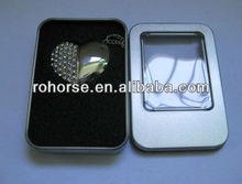 4GB Jewelled Magnet Heart USB 2.0 Flash Drive,1gb usb flash drive wholesale