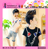 Free Shipping Low Price Wholesale Boys Cotton Printing T-shirt