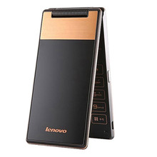 Lenovo A588T GSM Mobiles MTK6582 Quad Core 4 inch 800x480 Phones Android 4.4 2250mAh Dual SIM Flip Feature Phone