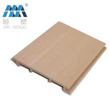Customized wooden warehouse wall panel wood plastic composite exterior WPC Wall Panel Cladding