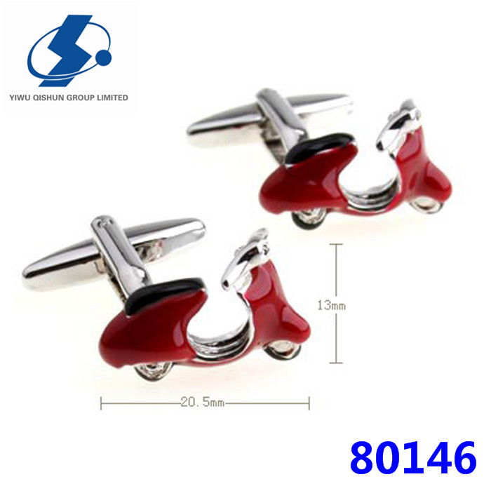 Novelty Cute Battery Car Cufflink Hot Selling Cufflinks For Men