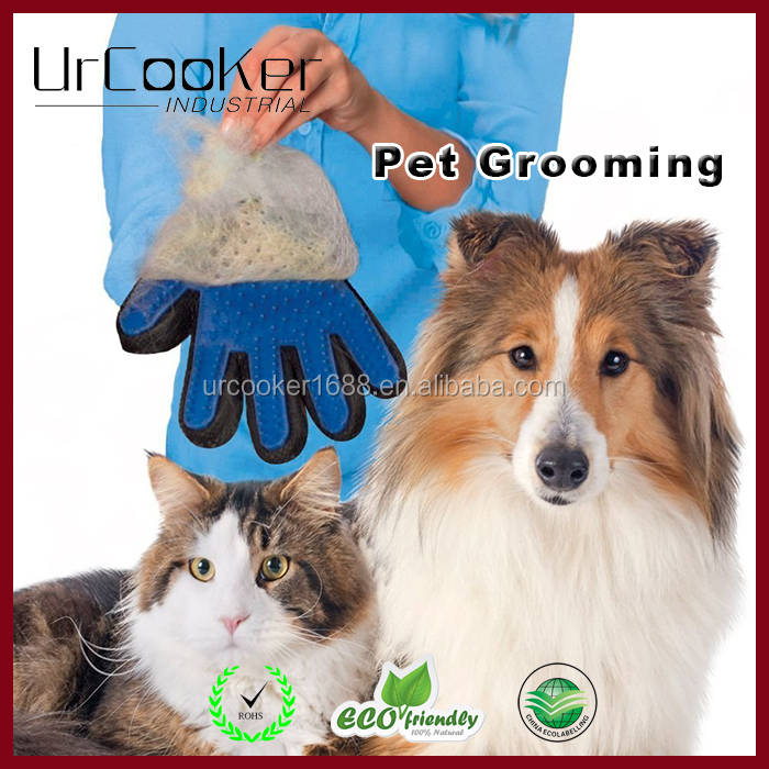 Hot selling pet grooming glove great shedding brush and tool
