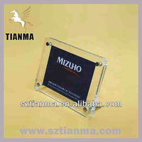 Customized high quality acrylic picture frame made in china