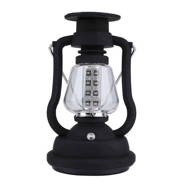 1pc 16 LED Solar Panel Hand Crank Camping Light Lamp RY-T92 Bright Outdoor Lantern est hot