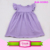 Little girls cotton summer fringed dress one piece summer dresses for 3years baby girl