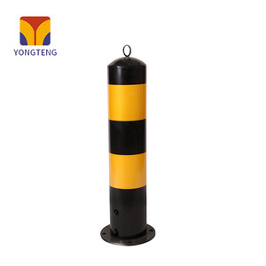 YT-B001A 50cm height road delineator warning post retractable bollards