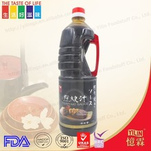 Tasty delicious China manufacture natural teriyaki sauce for restaurant