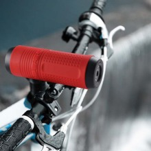 Bike speaker bluetooth waterproof wireless power bank speaker with flashlight