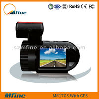 A2S60 Ambarella real hd driver recorder mini car video camera recorder with gps & g-sensor